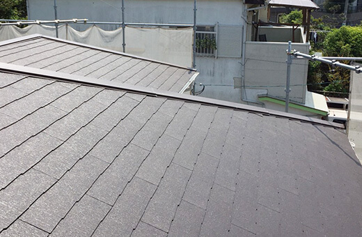 屋根や外壁は、部分的にリフォームすることができます