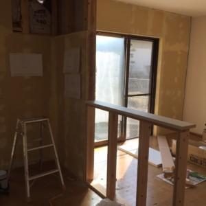 野芥戸建てキッチン下地工事