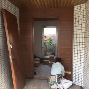 平和戸建て玄関ドアリフォーム