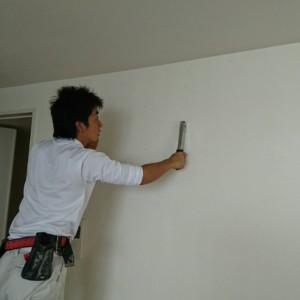マンション漆喰工事