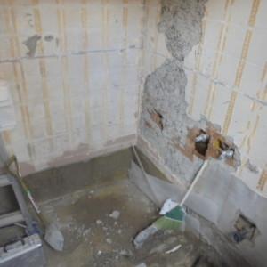 戸建て在来浴室からクリナップユアシスへリフォーム