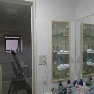 博多区マンションで洗面ユニットバスリフォーム開始