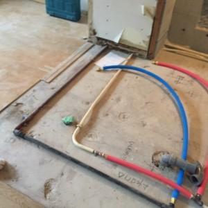 全面リフォーム物件給排水管設備