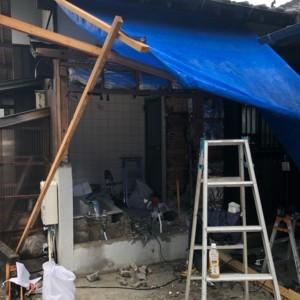 早良平屋古民家 浴室改修