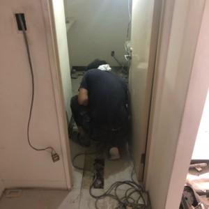 福岡市店舗某現場設備工事