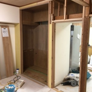 福岡市中央区今泉マンション和室改修