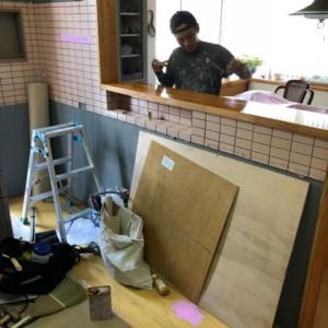 福岡県筑紫野市戸建キッチンリフォーム開始