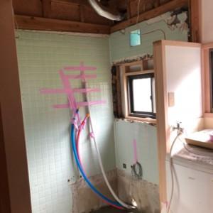 早良戸建在来浴室をユニットバスにリフォーム