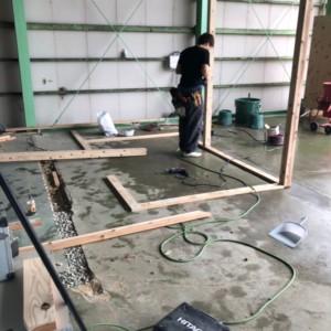 粕屋倉庫内改修