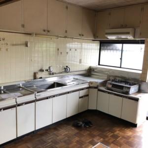 小郡キッチン、フローリング、和室リフォーム